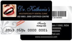 Dr. Kathuria's Privilege Card