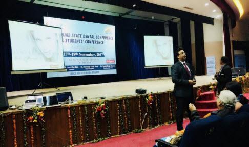 Dr Puneet Kathuria at Punjab State IDA Conference Ludhiana