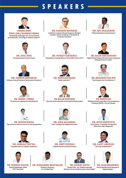 Dental Implants Specialists at Dentoweb Conference 2018 - Jaipur