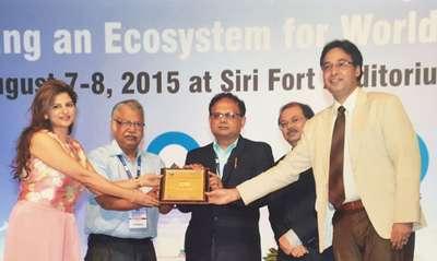 D.L.Shah GOLD AWARD-2015