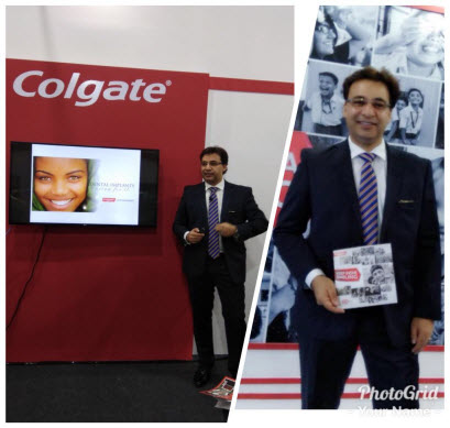 Dr. Puneet Kathuria at Colgate Oration Lecture