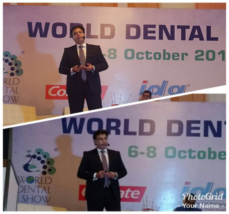 Dr. Puneet Kathuria at World Dental Show