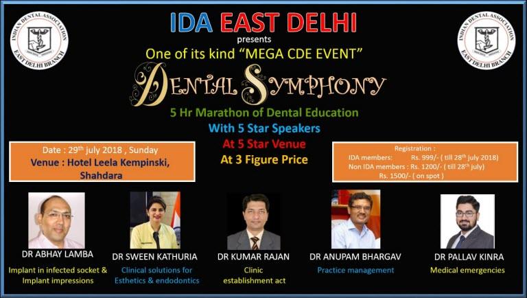 IDA East Delhi - Mega CDE Event