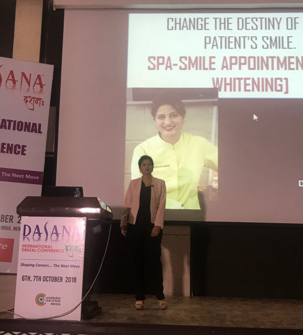 Dr. Sween at Dasana International Conference