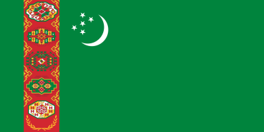 Turkmenistan - Flag