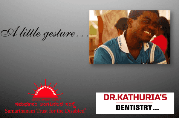 Dr. Kathuria - Samarthanam Trust for Disabled