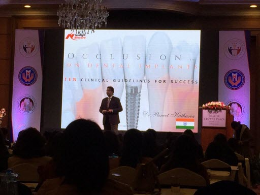 Dr.Puneet Kathuria - Annual Dental Conference Nepal