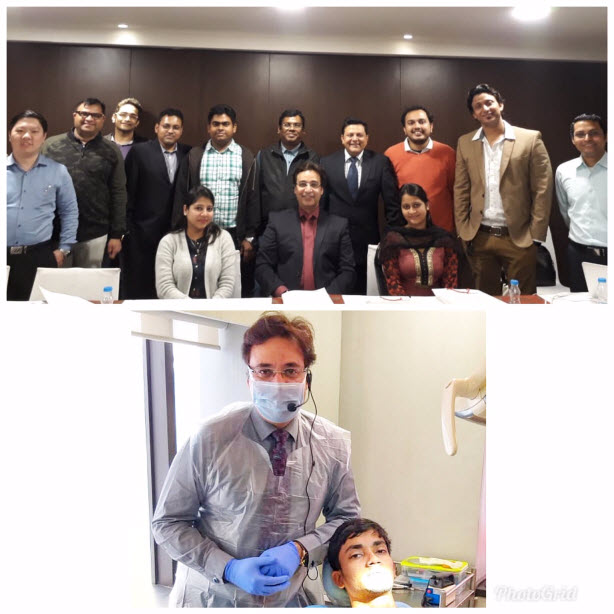 Dr.Puneet Kathuria at CIP Programme