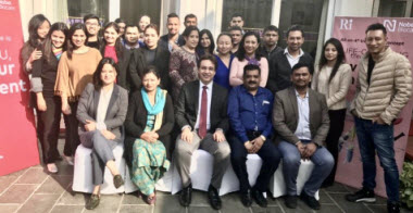 Dr. Puneet Kathuria at Nobel Biocare Nepal CIP Programme